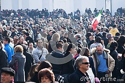 Vatican mass Editorial Stock Image