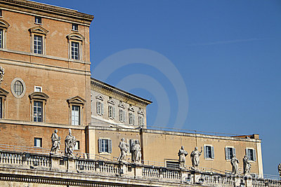 Vatican pope s apartment