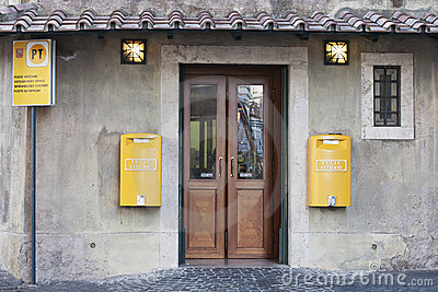Vatican post office Editorial Photo