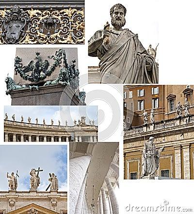 Vatican, Saint Peter, details