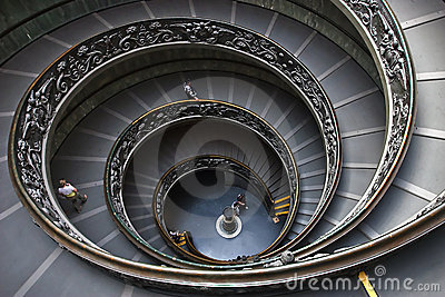 Vatican steps Editorial Stock Image