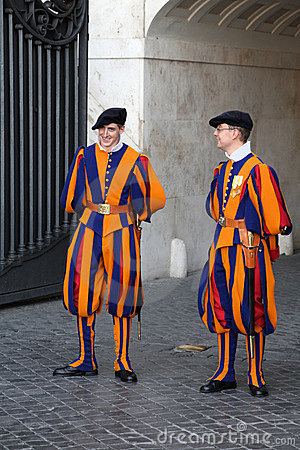 Vatican - Swiss Guard Editorial Stock Image