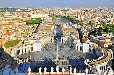 Vatican top view