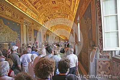 Vatican Tourist, italy Editorial Photo
