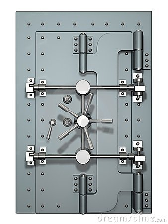 Free Vault Door Stock Photography - 1348962