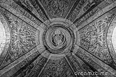 Vaulted Maltese Cross