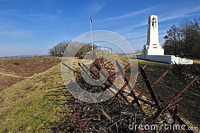 Vauquois first world war battlefield