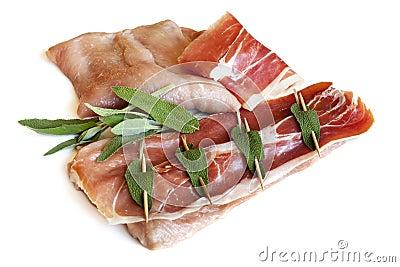 Veal Saltimbocca.
