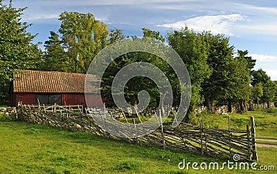 Vecchia architettura svedese