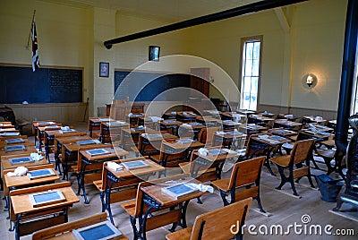 Vecchia aula scolastica