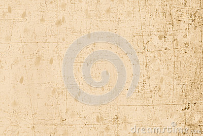 Vecchia e carta graffiata beige