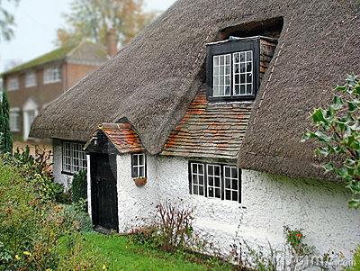 Vecchia risonanza thatched il cottage