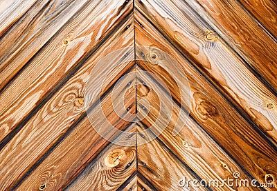 Vecchie plance del larice