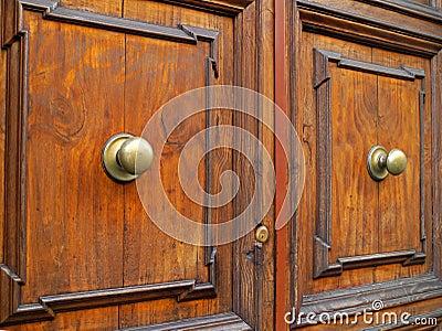 Vecchie porte di legno fotografia stock libera da diritti - Vecchie porte in legno ...