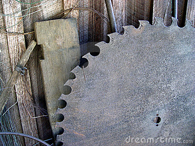 Vecchio la lama per sega
