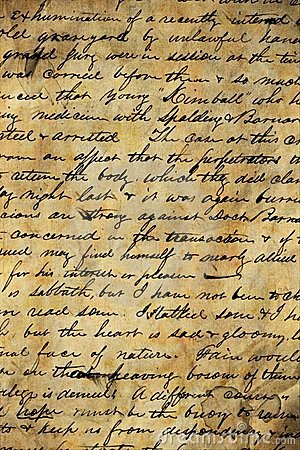 Vecchio manoscritto