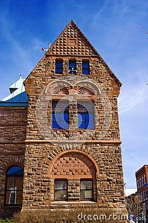 Vecchio ufficio postale di era del Victorian