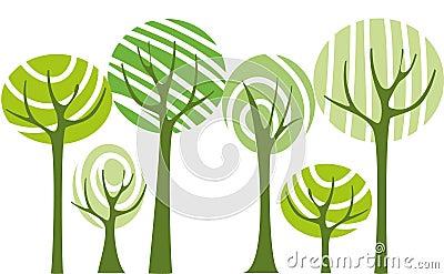 Vecteur d arbres