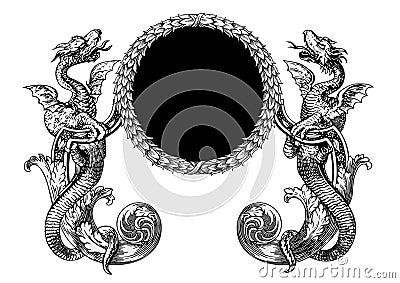 Vecteur de dragons