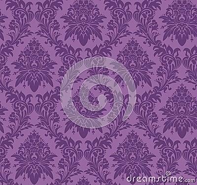 vecteur papier peint classique sans joint image stock image 8081671. Black Bedroom Furniture Sets. Home Design Ideas
