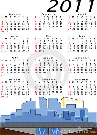 Vector 2011 Engineering and Construction Calendar