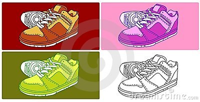 Vector - 4 Shoes