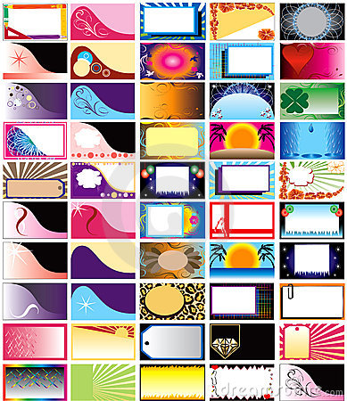 Vector 50 Horizontal Cards