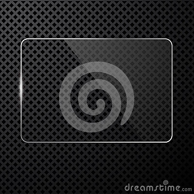 Vector abstract black technology background