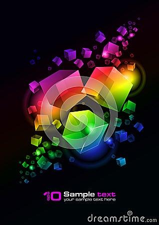 Free Vector Abstract Design Stock Photo - 15666040