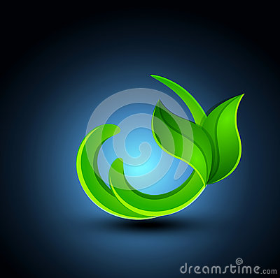Vector abstract element for design (environment)