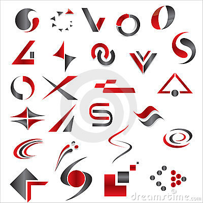 Free Vector Abstract Elements Royalty Free Stock Photos - 23714618