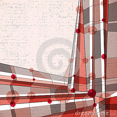 Vector abstract geometric background, modern style illustration.