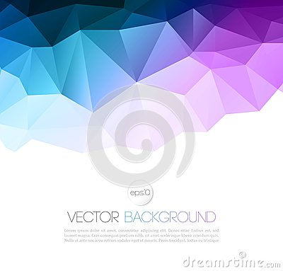 Free Vector Abstract Geometric Background With Triangle Stock Photography - 47198892