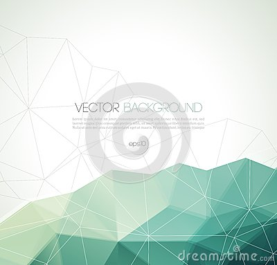 Free Vector Abstract Geometric Background With Triangle Royalty Free Stock Photography - 47199017
