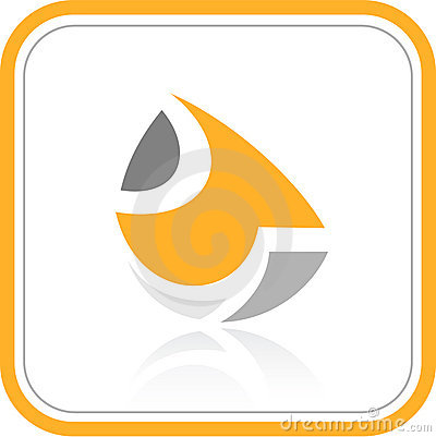 Vector abstract internet icon
