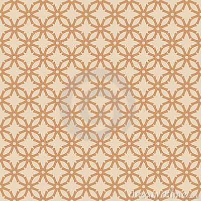 Vector abstract seamless pattern inspired by retro