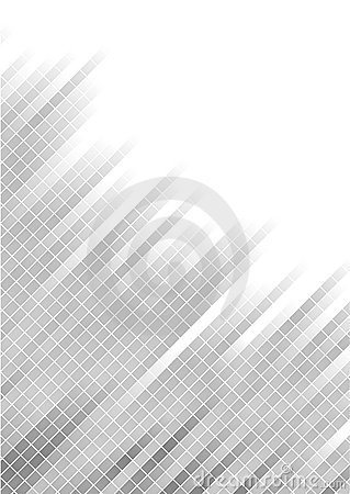 Free Vector Abstract Silver Background With Square Stock Photos - 10871003