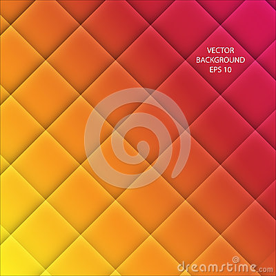 Free Vector Abstract Squared Background Stock Image - 25009331