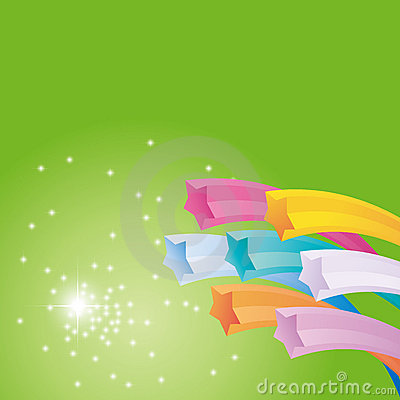 Vector abstract star cover background