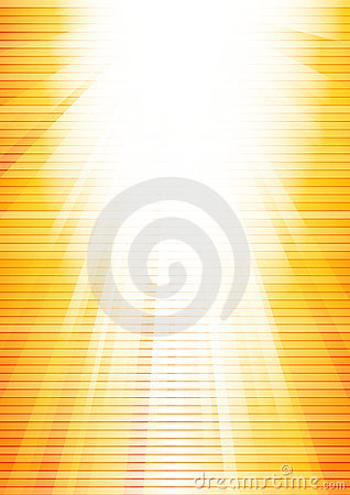 Vector abstract sunny background