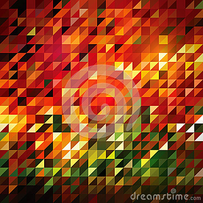 Vector Abstract Triangle Tiles