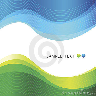 Free Vector Abstract Waves Design Stock Photo - 9094460