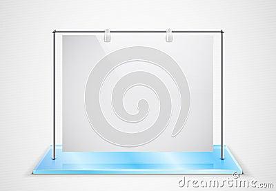 Vector ad screen
