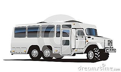 Vector all terrain bus