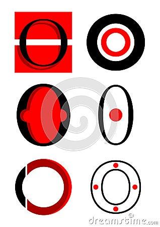 O Alphabet Logo Vector Alphabet O Logos And Icons Royalty Free Stock Image - Image ...
