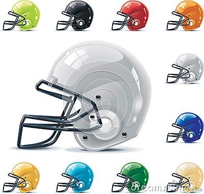 Free Vector American Football / Gridiron Icon Set. Part Stock Photo - 17858260