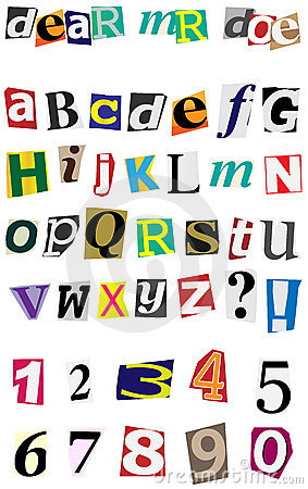 Vector Anonymous Alphabet