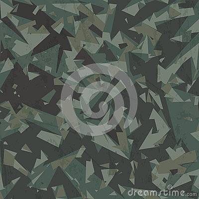 Free Vector Army Camouflage Background Royalty Free Stock Image - 36190976