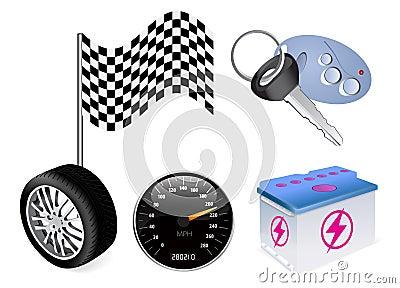 Vector auto icon