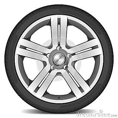 Vector autowiel